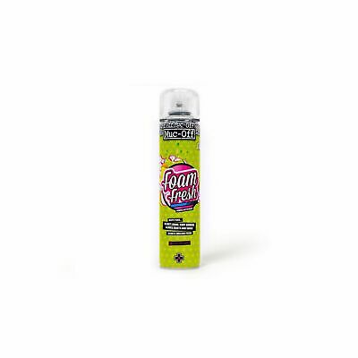 Muc-Off 400ml Bike/Car/Rally Crash Helmet/Lid Cleaner/Cleaning Foam Fresh