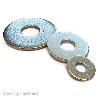 A2 Stainless Steel Form G Flat Washers M3 M4 M5 M6 M8 M10 M12 M14 M16