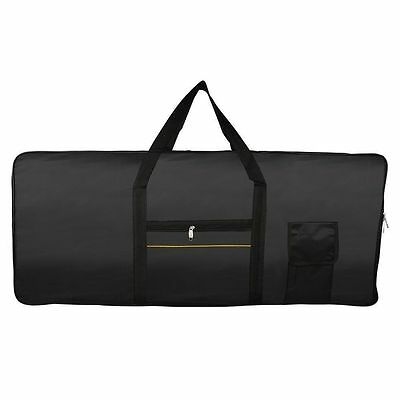 61-Key Keyboard Electric Piano Padded Case Gig Bag Bolso Oxford Cloth Portable