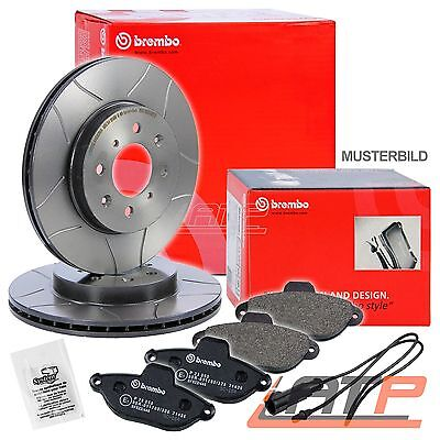 Brembo Sport Max Brake Discs Ø288 Vented + Pads Front Seat Leon 1M 99-06 1.8+1.9