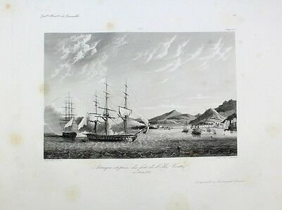 General Lauriston Ile Verte Spanien Revolution Navy Marine Fort See-Schlacht