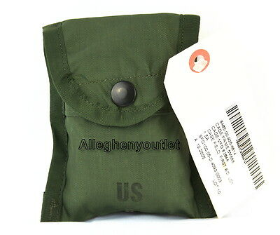 US Military Army FIRST AID COMPASS POUCH Carrier Case w/ Alice Clip NWT