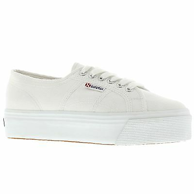 fca33ef39c9 SUPERGA 2790 ACOTW Linea Up And Down White Womens Shoes - EUR 61