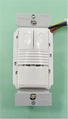 NEW WattStopper PW-302 Passive Infrared Dual Relay Wall Switch *OPEN BOX!*