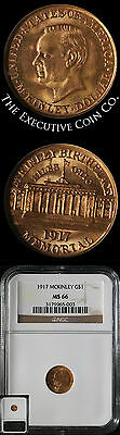 1917 McKinley Commemorative Gold $1 NGC MS66