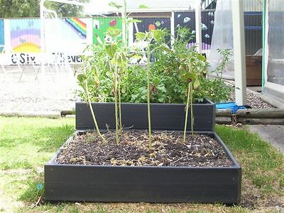 Raised Garden Bed- Double Kit - Longlife Composite Recycled Plastic 2 Teir NEW
