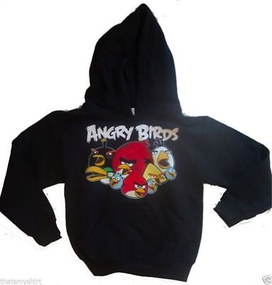 New Authentic Angry Birds Grumbles Youth Hoodie Size Youth Small