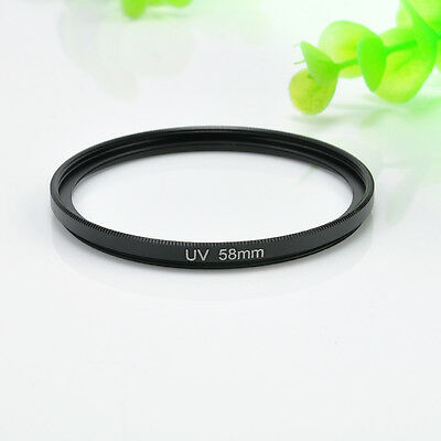 For Canon Rebel 18-55mm Polarizing UV Filter 58mm Circular Lens Protector