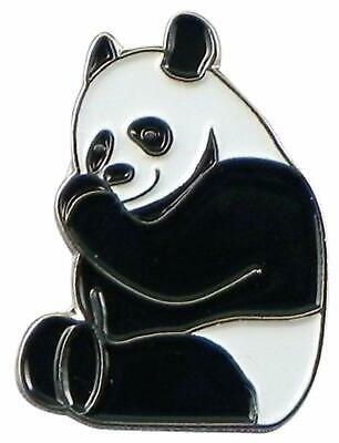 Panda Bear enamel pin / lapel badge