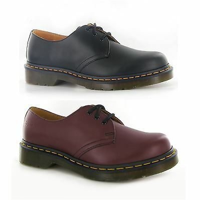 Dr.Martens Classic 1461 Z Leather Unisex 3 Eyelets mens casual non safty shoes