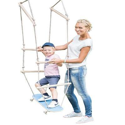 Happy People 73223 Skateboard Holz Schaukel Kinderschaukel Swing Neuheit