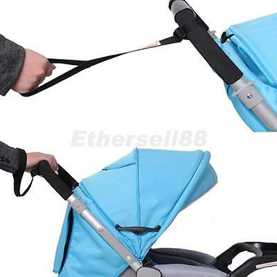 Baby Stroller Pram Buggy Pushchair Safety Strap Wrist Belt Anti-slip Black