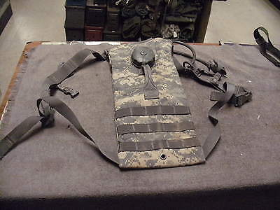 US Military Issue MOLLE II ACU Camo Hydration Pack with 100 oz Bladder and Bite