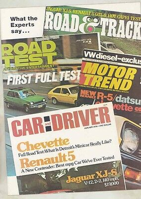 1976 Renault 5 GTL Roadtest Brochure US my6071