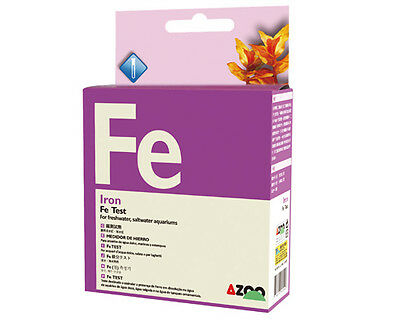 AZOO  Fe Test - Iron Test Kit For aquatic plant, reef aquariums and ponds