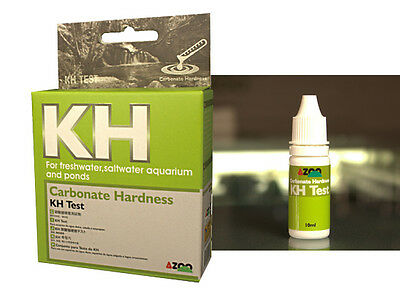 AZOO KH Test For freshwater, aquatic plant, saltwater, reef aquariums and ponds