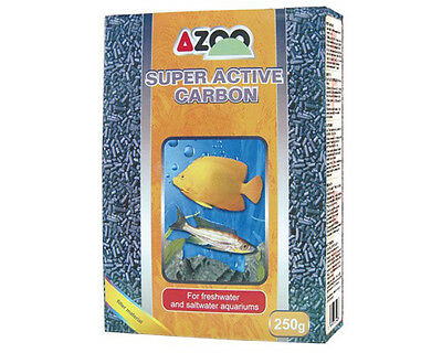 AZOO SUPER ACTIVE CARBON Chemical filter medium freshwater and saltwater