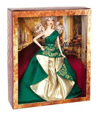 Barbie Collector 2011 Holiday Barbie T7914 *new*