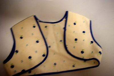 Vintage Lot Of 2 Baby Shirts One Is Terrycloth And One Vest W/apple Motif