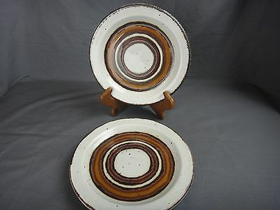 3 Midwinter Stonehenge EARTH Bread and Butter Plates
