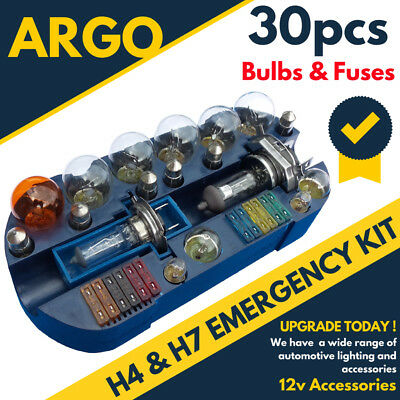 FORD ESCORT MK3 H4//H7 EMERGENGY SPARE BULB FUSE KIT
