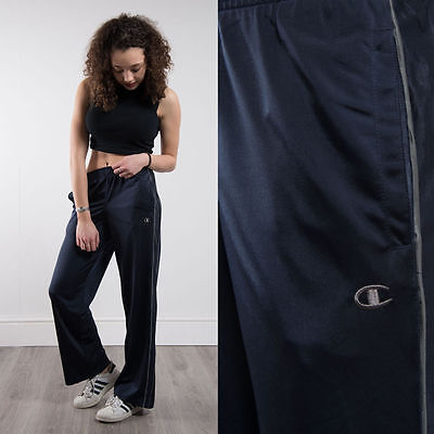 Champion Blue Tracksuit Bottoms Trousers Casual Run Gym Work Out Sporty Spice 12
