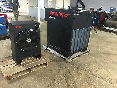 Hypertherm HT4400 Plasma Power Source and Chiller 400 Amp