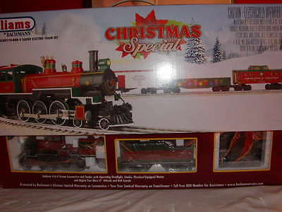 Williams by Bachmann AA00323 Christmas Special Train Set New O 027 BAC 00323