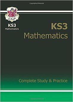 KS3 Maths Complete Study & Practice New Paperback Book CGP Books
