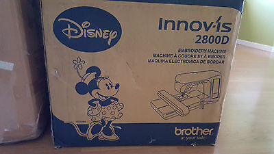 Brother Innovis 2800D Embroidery Machine - Disney Edition