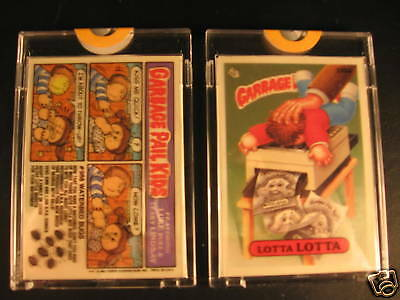 1987 Topps Garbage Pail Kids Acetate Proof Set #330A