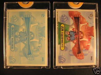 1987 Topps Garbage Pail Kids Acetate Proof Set #342A