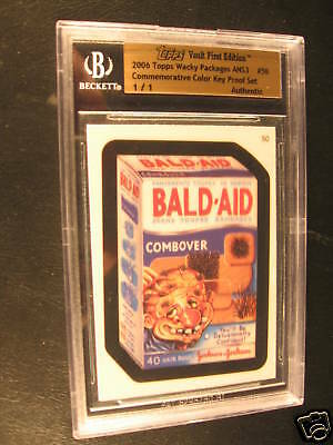 2006 Topps Wacky Packages ANS3 Proof #50 BGS