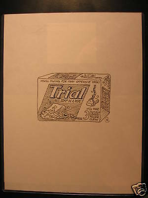 2006 Topps Wacky Packages ANS4 B&W Art Trail