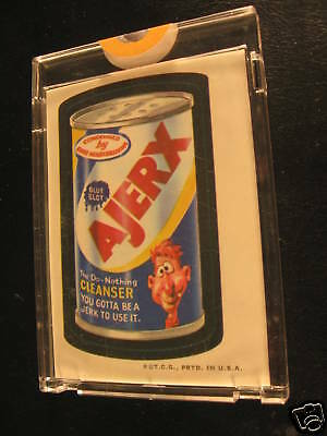 1973 Topps Wacky Packages Full Color Proof Ajerx
