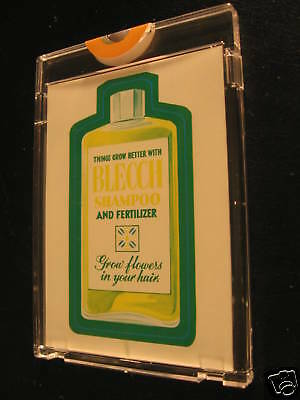 1973 Topps Wacky Packages Series 2 Proof Blecch