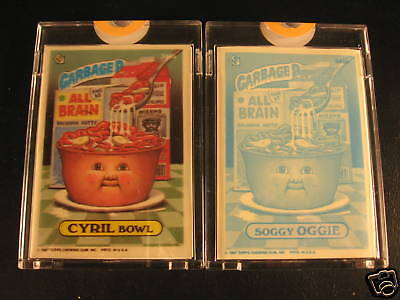 1987 Topps Garbage Pail Kids (2) Proof Set #345A