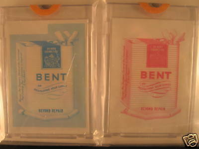 1973 Topps Wacky Packages Series 4 (2) Proof Cards Bent