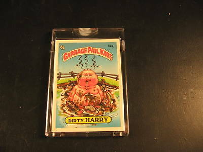 1985 Topps Garbage Pail Kids OS2 Proof Card #52A