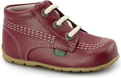 Kickers KICK HI B CORE Unisex Babies Toddlers Leather Comfy First Walking Boots
