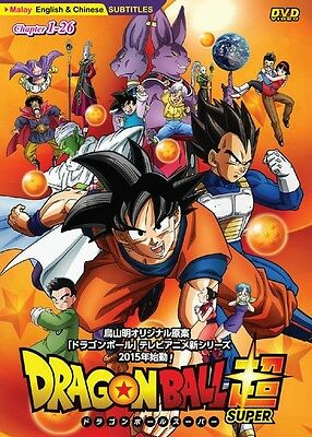 DRAGON BALL SUPER Box 1 | Episodes 01-26 | English Subs  2 DVDs (CRT442)-LU