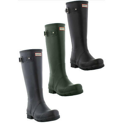 Hunter Original Tall Wellingtons Black Blue Green Mens Wellies Boots Size 7-12