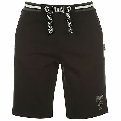 Everlast Mens Fleece Shorts Bottoms Pants Trousers Sports Casual Clothing