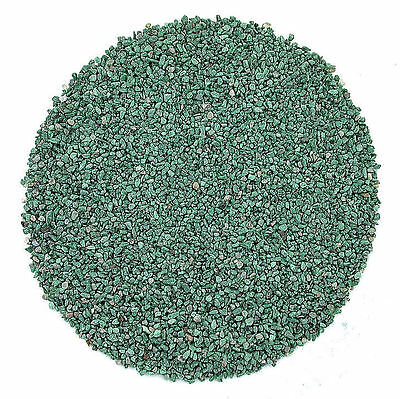 1/4 Ounce No Dye Natural Malachite Chip No Powder Inlay Sand Painting