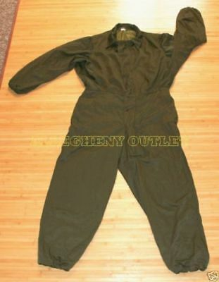 US Military Mechanics INSULATED Cold Weather UTILITY WORK COVERALLS Small NICE