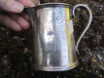 Canadian Pacific Railway  Silver Plated Creamer  Cpr Rail