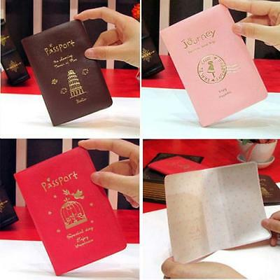 Passport Ticket Credit Card Journey Travel Holder Cover Case Protector Skin uf