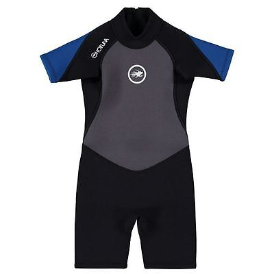 Hot Tuna Kids Wetsuit Short Length Water Sports Surfing Scuba Diving Infant Boys