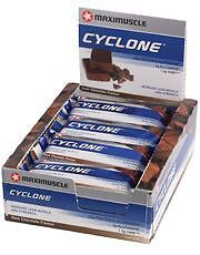 12 bars of Maxi Nutrition Cyclone Chocolate Bar 60g