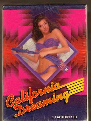 California Dreaming Series 1 Factory Set of 144 Trading Cards - Sealed